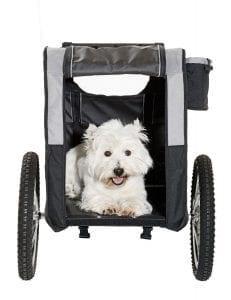 karlie 31618 doggy liner 2 hundeanh nger fahrradanh nger. Black Bedroom Furniture Sets. Home Design Ideas