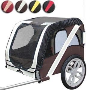 leopet fah18 2 desert palm hundefahrradanh nger. Black Bedroom Furniture Sets. Home Design Ideas