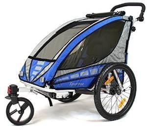 Qeridoo Sportrex 1 Kinderfahrradanhanger Fahrradanhanger Test