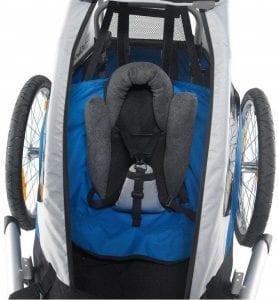Sitzstütze für Kinder Fahrradanhänger