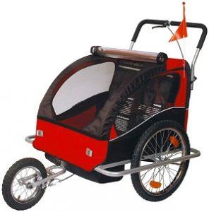 Tiggo Vollgefederter Kinderfahrradanhanger 502 01 Fahrradanhanger Test