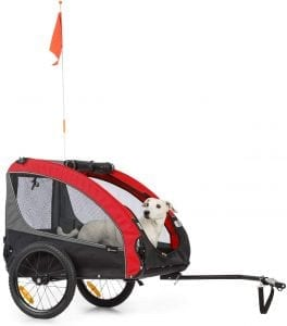 Klarfit Husky Race Fahrrad-Hundeanhänger