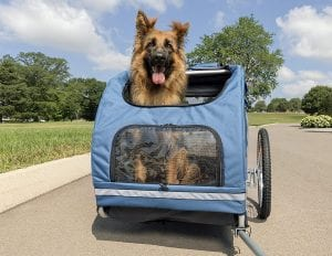 PetSafe Solvit HoundAbout II Hundefahrradanhänger