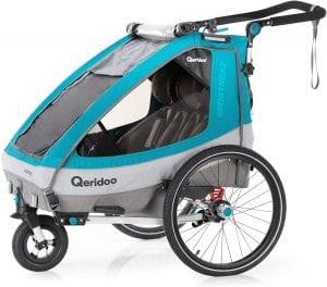 Qeridoo Sportrex2 Kinderfahrradanhänger